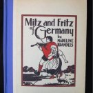 Mitz and Fritz of Germany Madeline Brandeis Vintage HC