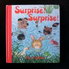 Surprise Surprise Gyo Fujikawa Board Book 1978 Rabbit