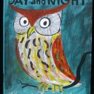 Day and Night Roger Duvoisin Owl Poodle Vintage HC 1960