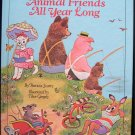 Animal Friends All Year Long Tibor Gergely Scarry 1969