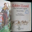 Robin Hood His Life and Legend Miles Ambrus Vintage HC