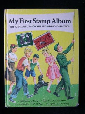 My First Stamp Album Beginning Collector Vintage 1973