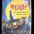 Weird the Complete Book of Halloween Words Limburg HCDJ