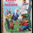 Rabbit and His Friends Richard Scarry Golden Book 1978