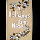 Holidays are Nice Garvey Year with the Jewish Child HC