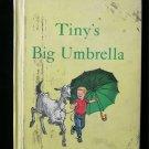 Tiny's Big Umbrella Goat Mabel LaRue Stevens Vintage HC