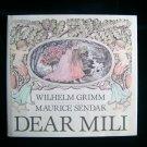 Dear Mili Wilhelm Grimm Maurice Sendak HCDJ 1st Print