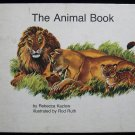 The Animal Book Rebecca Kazlow Rod Ruth Vintage HC 1971