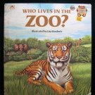 Who Lives in the Zoo Lis Bonforte Tiger Gorillas 1981