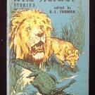 Wild Animal Stories Furman Lion Alligator Wolf Vintage