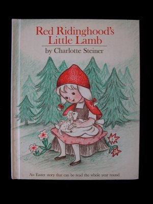Red Ridinghood's Little Lamb Easter Steiner Vintage HC