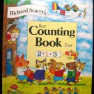 Richard Scarry's Best Counting Book Ever Numbers 1984