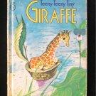 Teeny Teeny Tiny Giraffe Rand McNally Junior Elf Book