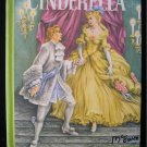 Cinderella Evelyn Andreas Ruth Ives Vintage 1954 HC