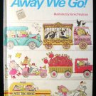 Away We Go Irene Friedman Cricket Book Transportation