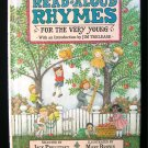 Read Aloud Rhymes for the Very Young Prelutsky Brown HC