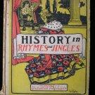 History in Rhymes and Jingles Flick Hawley Vintage 1901
