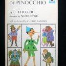 The Adventures of Pinocchio Collodi Einsel Vintage 1963