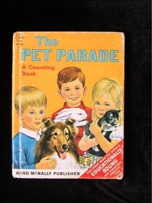 The Pet Parade Counting Book Mary Warren Vintage 1969
