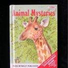 Animal Mysteries Lester Fisher Hauge Vintage HC 1971