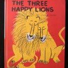 The Three Happy Lions Louise Fatio Roger Duvoisin HC