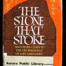 The Stone That Spoke Lost Languages Steven Frimmer HCDJ