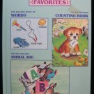 Three Golden Book Favorites Words Counting ABC Williams
