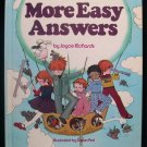 More Easy Answers Joyce Richards Cricket Susan Perl HC