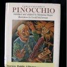 Carlo Collodi's Pinocchio Gerald McDermott HCDJ 1981