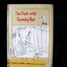 The Duck With Squeaky Feet Denys Cazet HCDJ Vintage