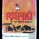 Rafiki Bola Langner African Animals Build Clean HC 1977