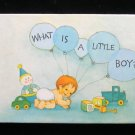 What is a Little Boy? Ames Peltier Vintage Hallmark HC