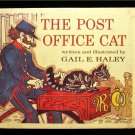 The Post Office Cat Gail Haley Mail Man Vintage HC 1976
