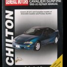 Cavalier Sunfire 1995-00 Repair Manual General Motors