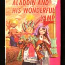 Aladdin and His Wonderful Lamp Living Story Book RARE
