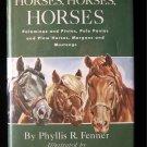 Horses Horses Horses Fenner Crowell HCDJ 1949 Palominos