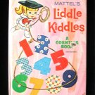 Mattel's Liddle Kiddles Counting Book Whitman Vintage