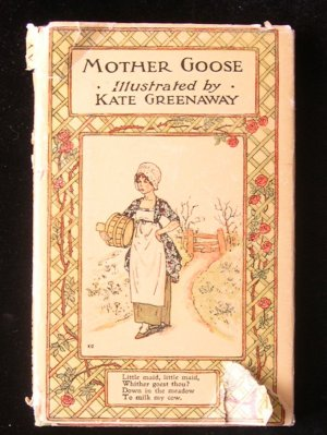 Mother Goose Kate Greenaway Old Nursery Rhymes HCDJ