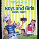 Betty Crocker's New Boys and Girls Cook Book Vintage HC