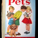 Pets Ratzesberger Webbe Rand McNally Giant Book Vintage