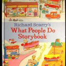 Richard Scarry's What People Do Storybook Dictionary HC