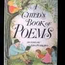 A Child's Book of Poems Gyo Fujikawa Vintage 1969 HC