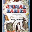Animal Babies Tony Palazzo Farm Forest Home Zoo Vintage