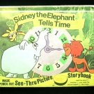 Sidney the Elephant Tells Time See Thru Punch Out Elias