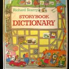Richard Scarry's Storybook Dictionary Giant Golden Book