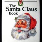 The Santa Claus Book Alden Perkes Christmas HCDJ 1st ED