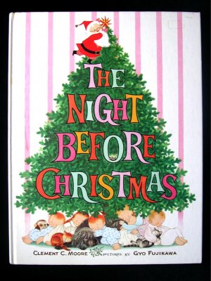 The Night Before Christmas Gyo Fujikawa Santa Claus HC