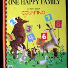 One Happy Family Counting Animals Preschool RARE Board