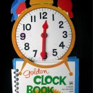 Golden Clock Book Play and Learn Telling Time Seiden
