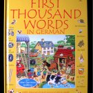 First Thousand Words in German Cartwright Usborne 2002